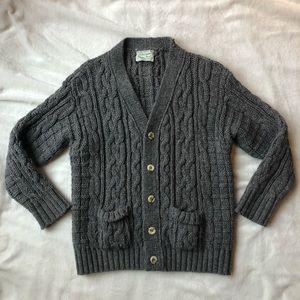 Other - Fisherman's Aran Irish Knit Wool Cardigan